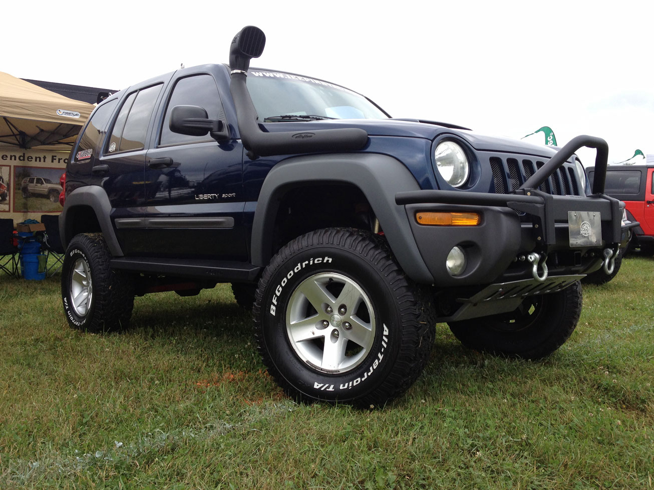 Jeep Grand Cherokee Off Road Bumper >> Jeep Liberty Auto Parts