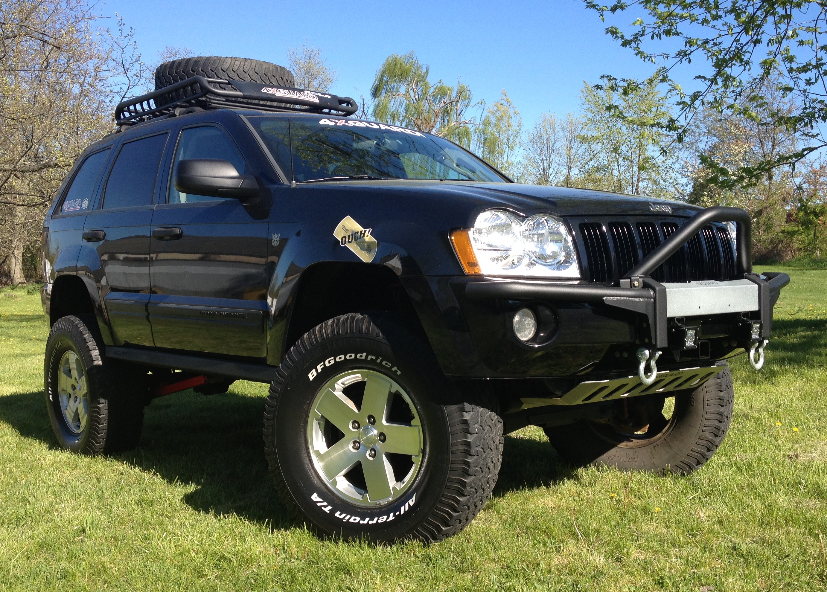 JBA Jeep Grand Cherokee WK Lift Kits
