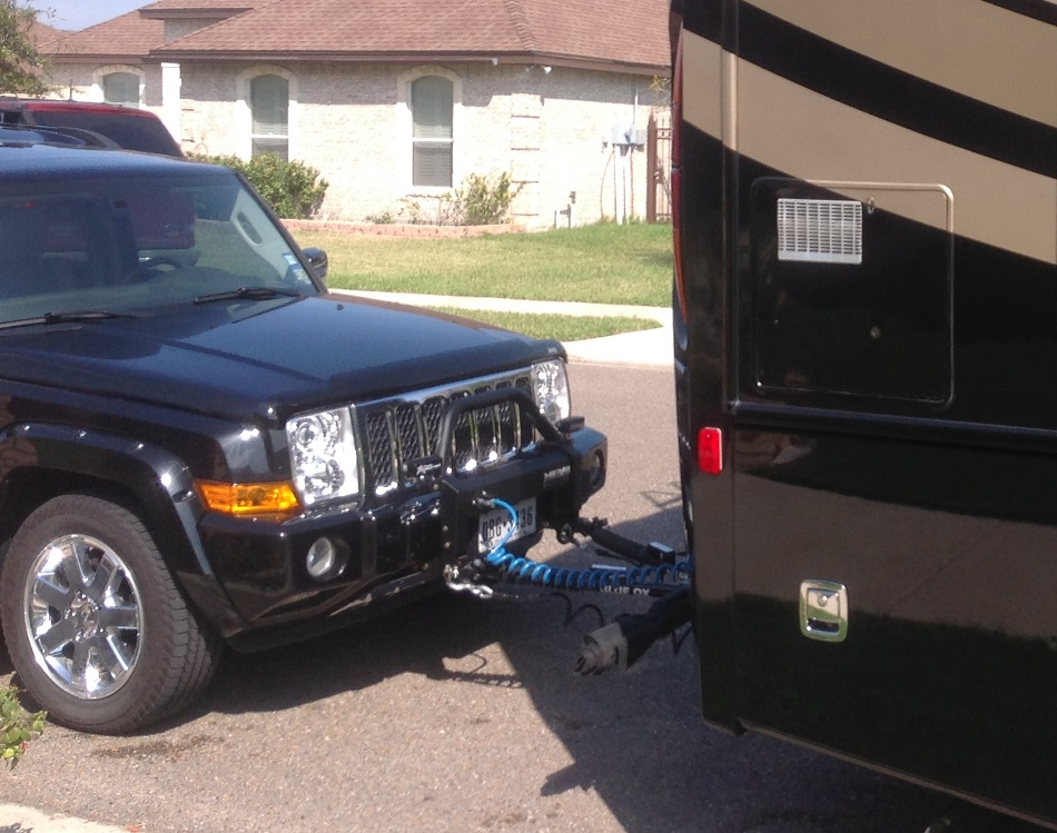 Jeep Tow Bar Mount WK