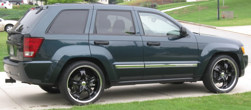 Jeep SRT8 / Lowered Grand Cherokee WK A-arms