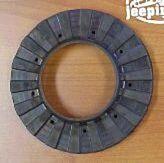 KJ Rear lower coil spring isolator