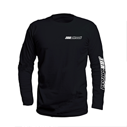 JBA Black Long Sleeve Tee Shirt Front