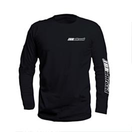 JBA Black Long Sleeve Tee Shirt Front