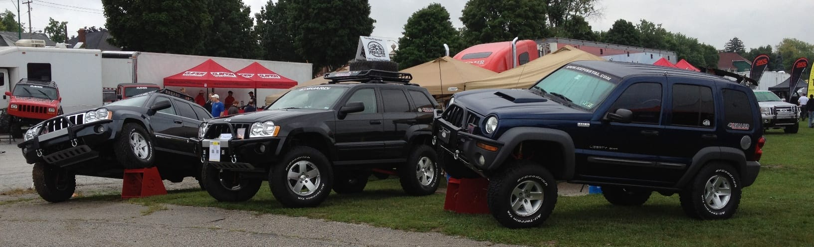 Jeeps at PA Jeep Show