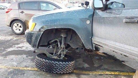 Jeep Grand Cherokee WK a-arms