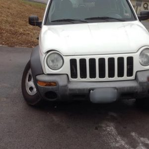 Jeep Liberty UCA ball joint failure