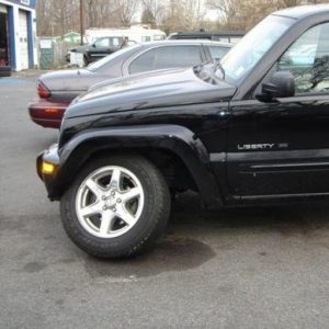 Jeep Liberty upper a-arm ball joint failure